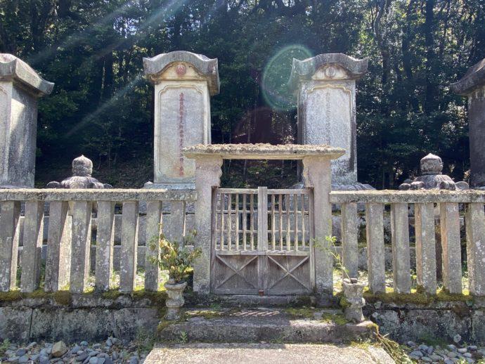 東光寺毛利家墓所