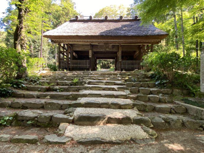 阿弥陀寺の仁王門