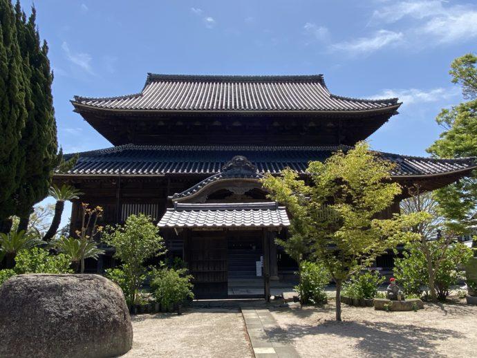 周防国分寺の本堂