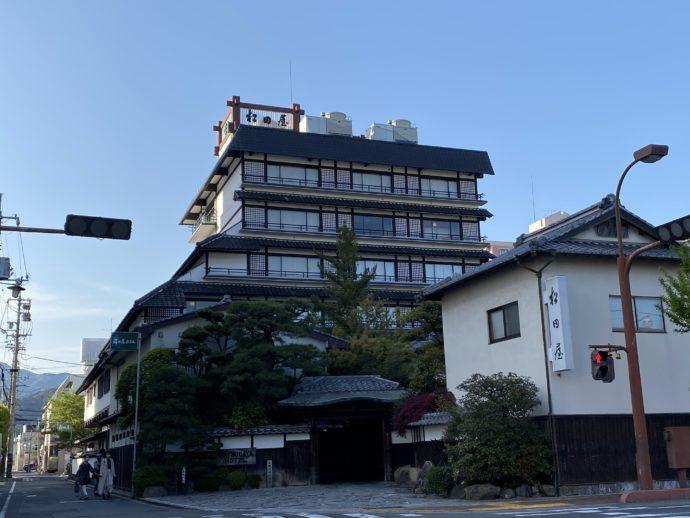 湯田温泉の松田屋