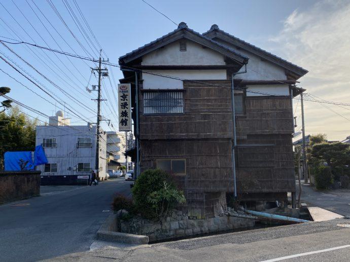 湯田温泉の風情ある建物
