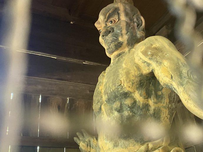 阿弥陀寺の仁王吽形
