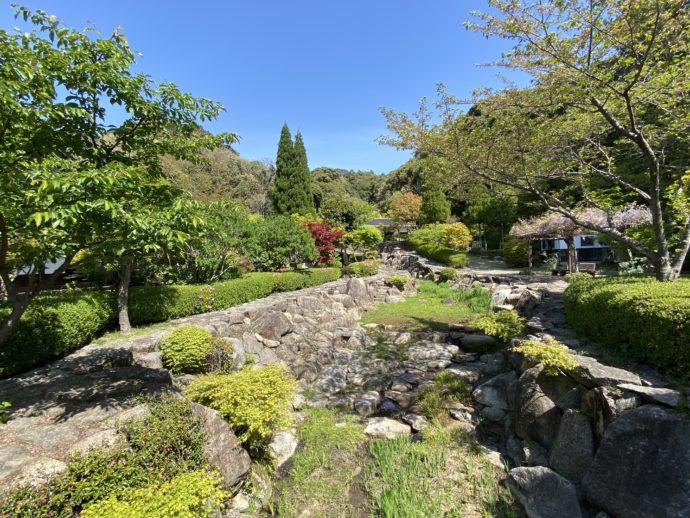 阿弥陀寺の庭園