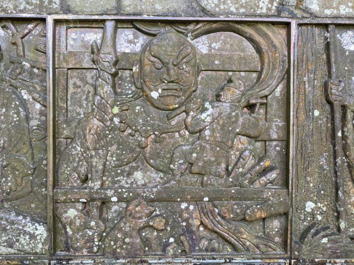 銅板:仏師