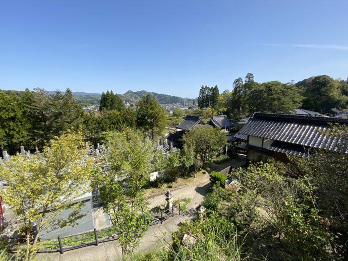 金比羅神社からの景色