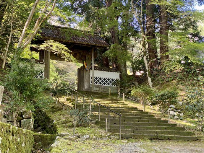永明寺の山門