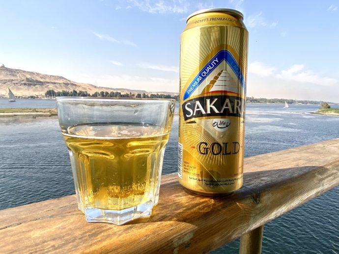 ナイル川とビール