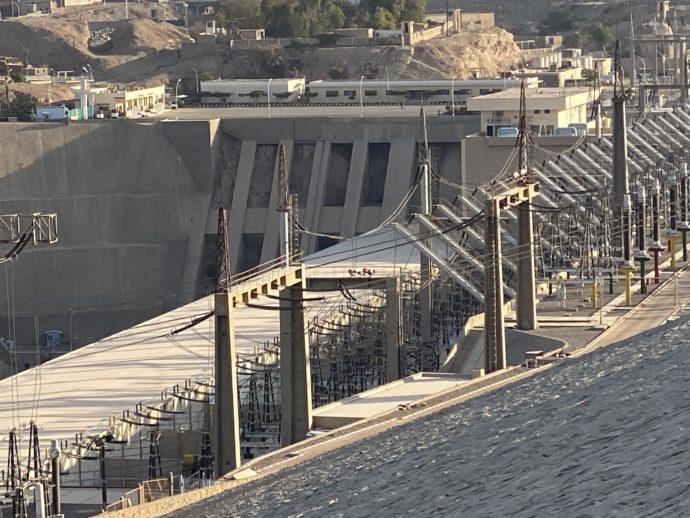 アスワン・ハイ・ダムの水門