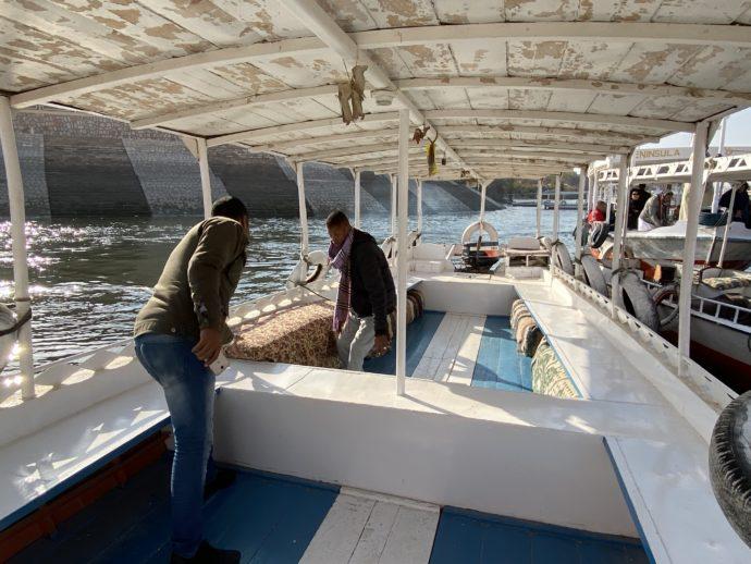 貸切のチャーター船