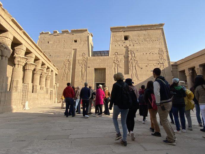 イシス神殿の入口