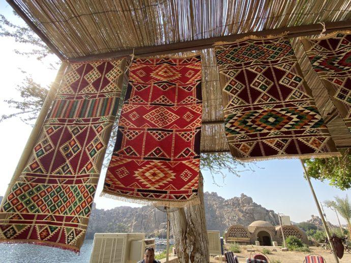 エジプトのカーペット