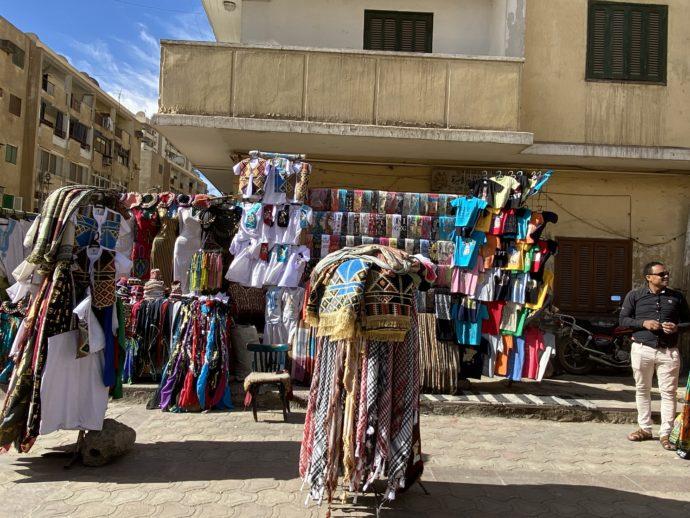 エジプト土産店