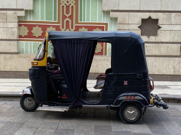 エジプトのタクシー