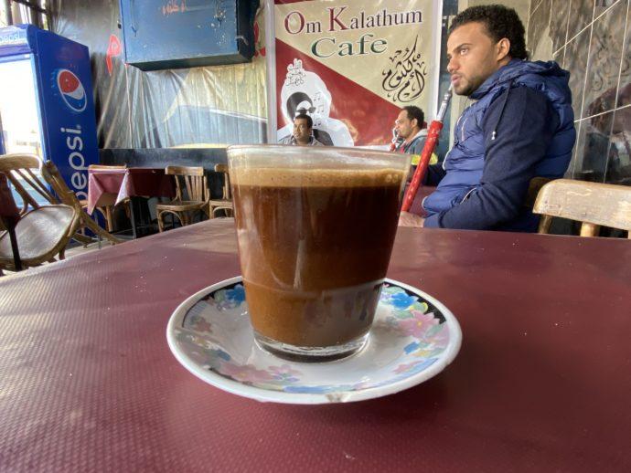 エジプトのコーヒー