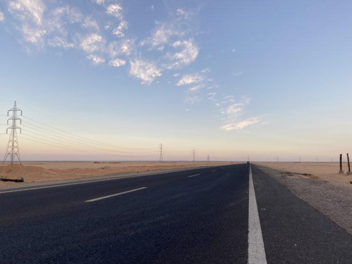 エジプトの幹線道路