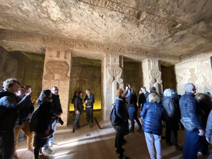 アブ・シンベル小神殿の大列柱室