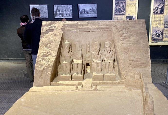 小神殿の模型