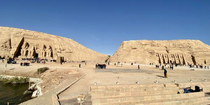 アブ・シンベルの2つの神殿