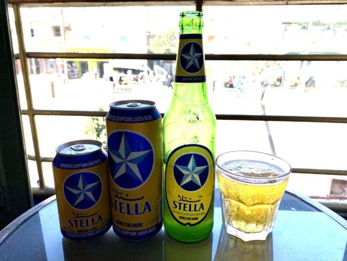 エジプトのSTELLAビール