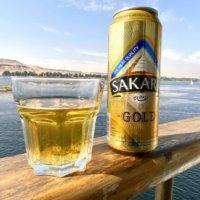 SAKARA GOLDビールとナイル川