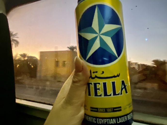 エジプトのSTELLLAビール