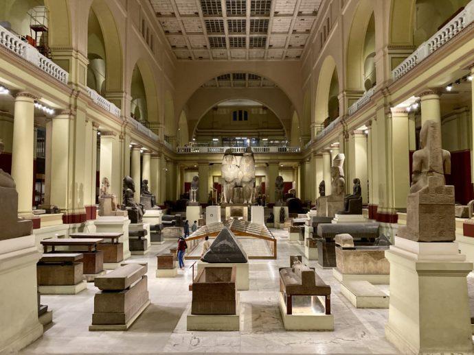 棺だらけのエジプト考古学博物館