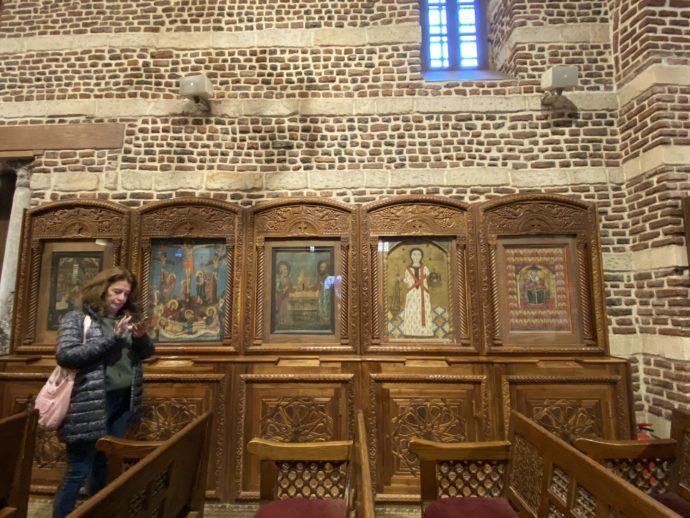 聖セルギウス教会のイコン画