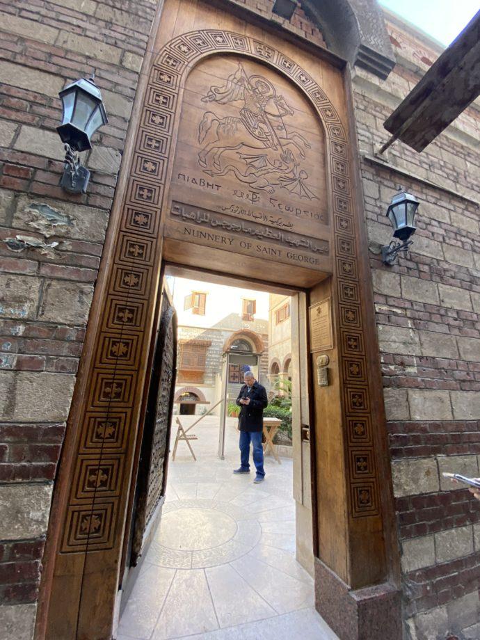 聖ジョージ修道院の門