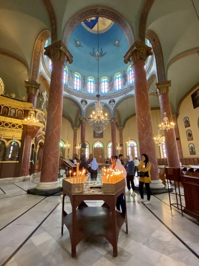 マリ・ギルギスのドーム型礼拝堂