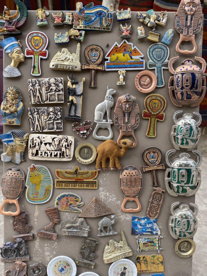 エジプト土産のマグネット