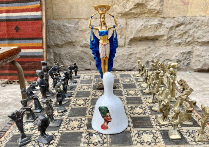 エジプトのチェス