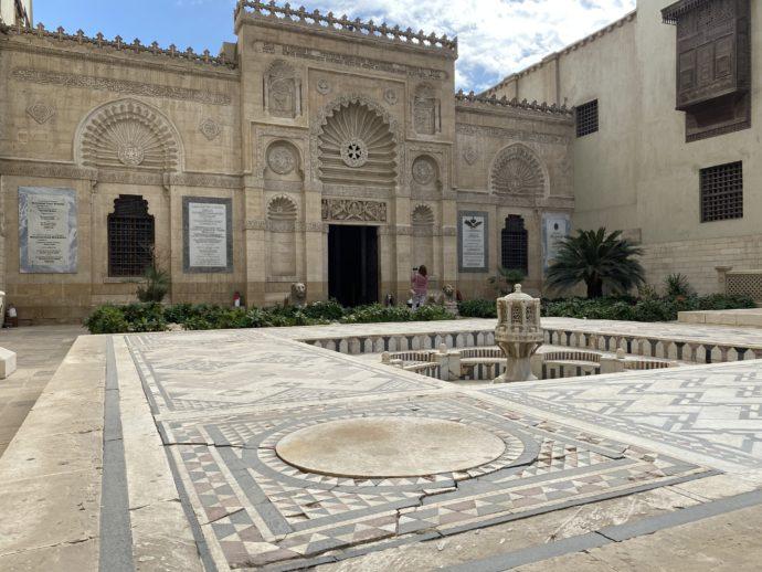 コプト博物館の前庭