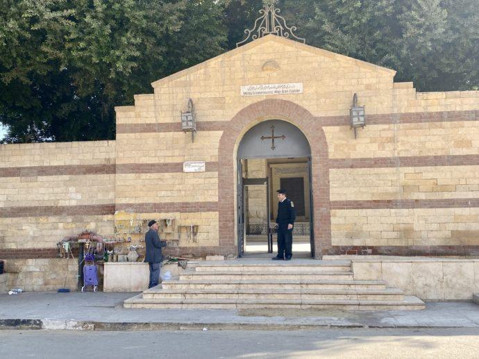 聖ジョージ教会の裏門