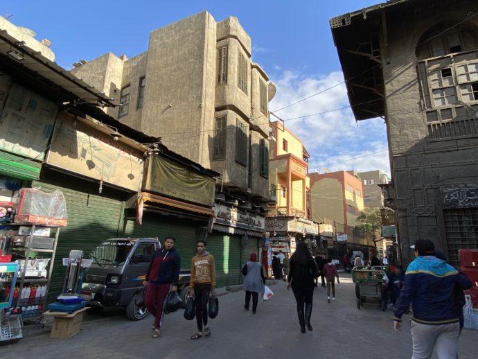 エジプトの街