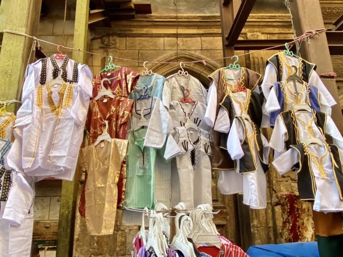 エジプトの民族服のお土産