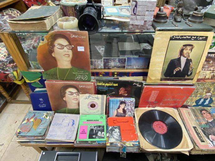 エジプトのレコード盤
