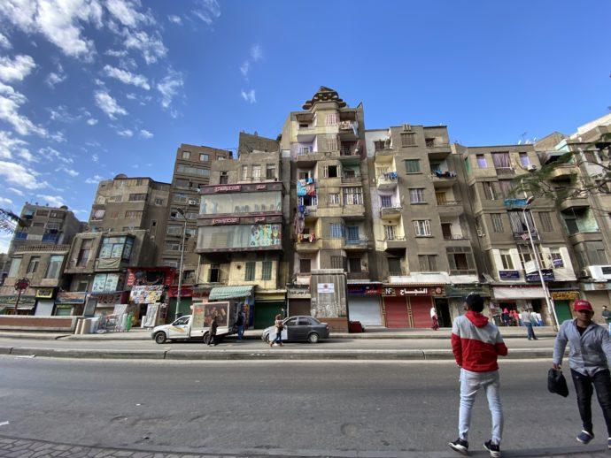Bab El Shaariya駅目の前