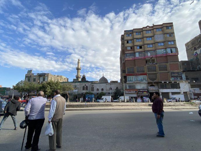 Bab El Shaariya付近の広場