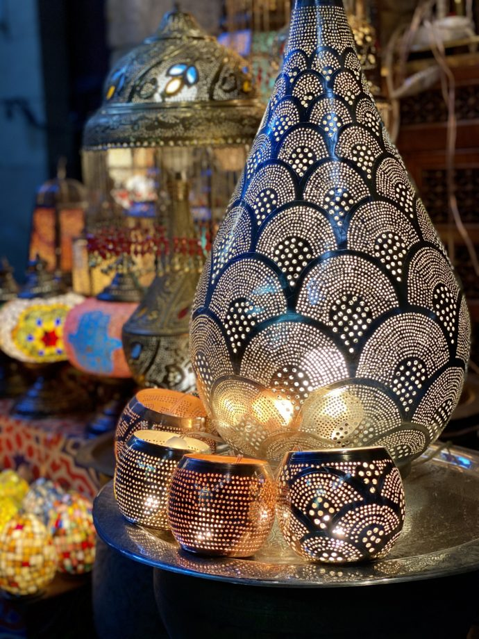エジプトのランプ