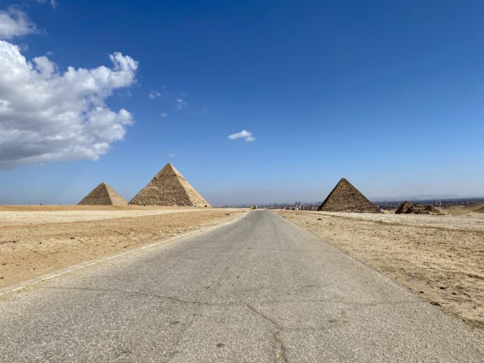 ギザの3つのピラミッド