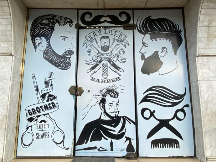 床屋の看板