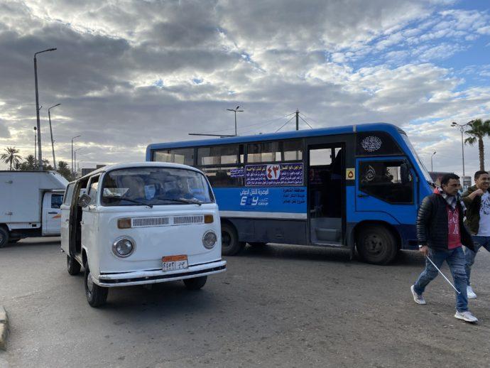 Mash'al bus stop交差点
