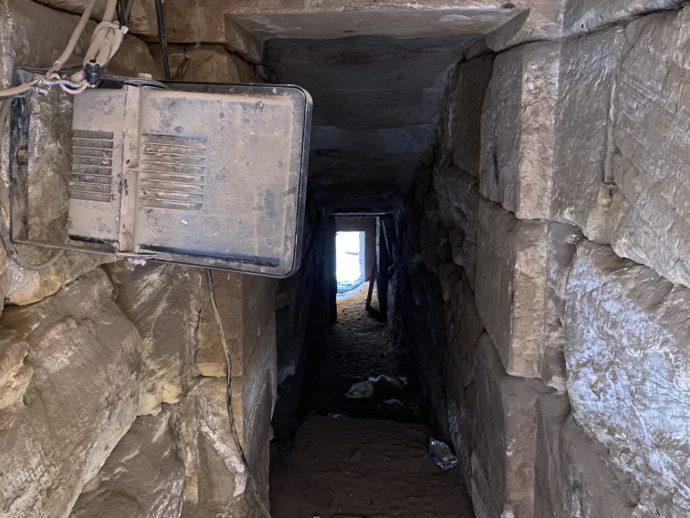 ホルス神殿のナイロメーター