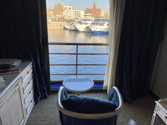 客室から見たエドフの街