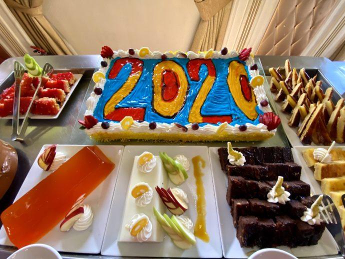 2020年のお祝いケーキ