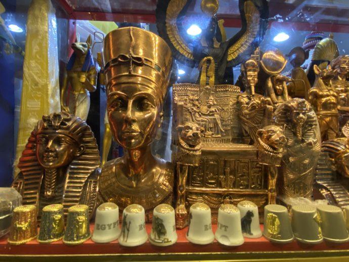 エジプトの置物みやげ