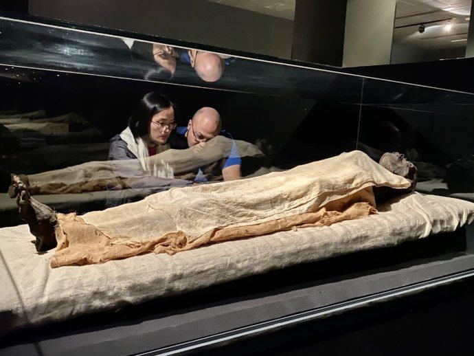 ルクソール博物館のミイラ