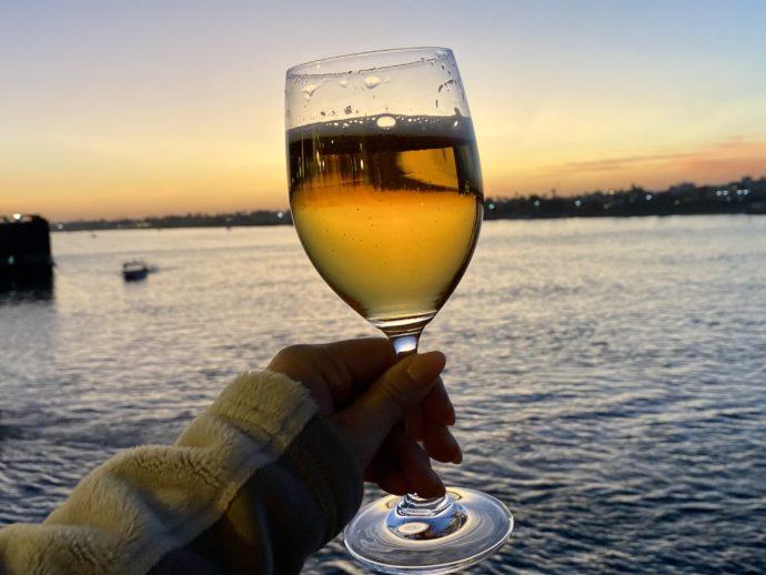 ビールとナイル川