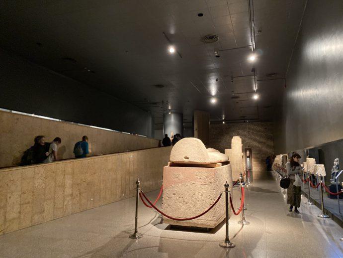 ルクソール博物館の館内