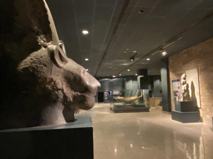 ルクソール博物館のフロア